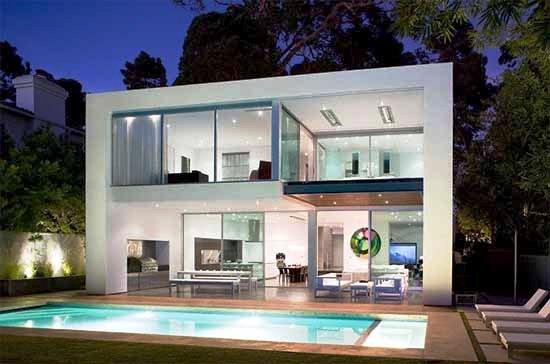 Arquitectura arquidea casa minimalista en california for Casa cubo minimalista