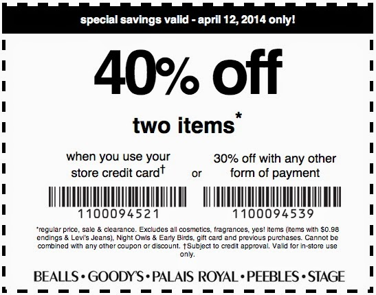 Goody's Coupon