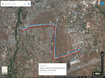 Rute Angkasa Pura Airport Running Series 3 Kupang, lomba lari di bandara El-Tari Kupang