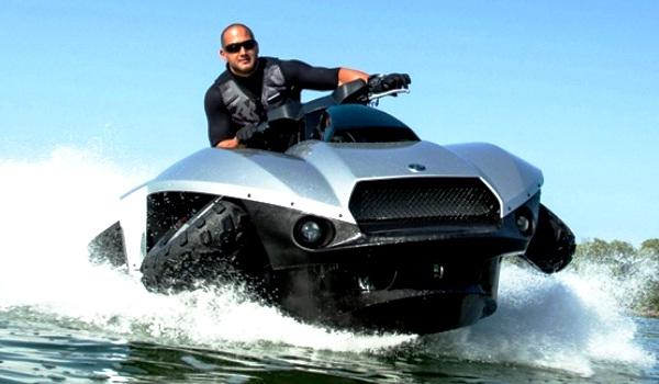 Quadski Sepeda Motor Amfibi