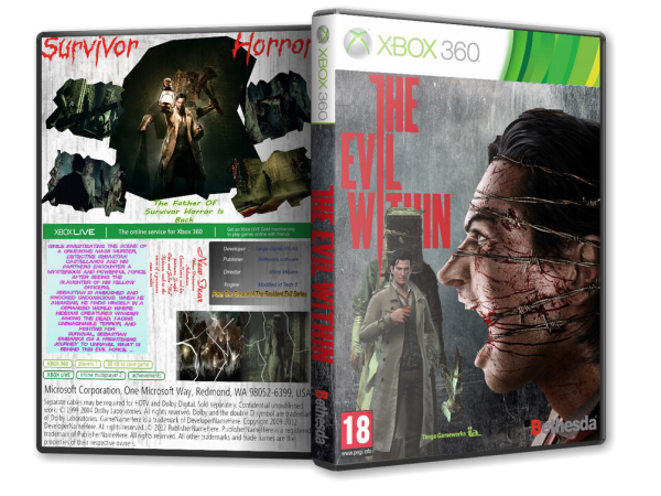 Capa The Evil Within Xbox 360