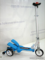1 DoesBike S378 Dual Pedal Scooter