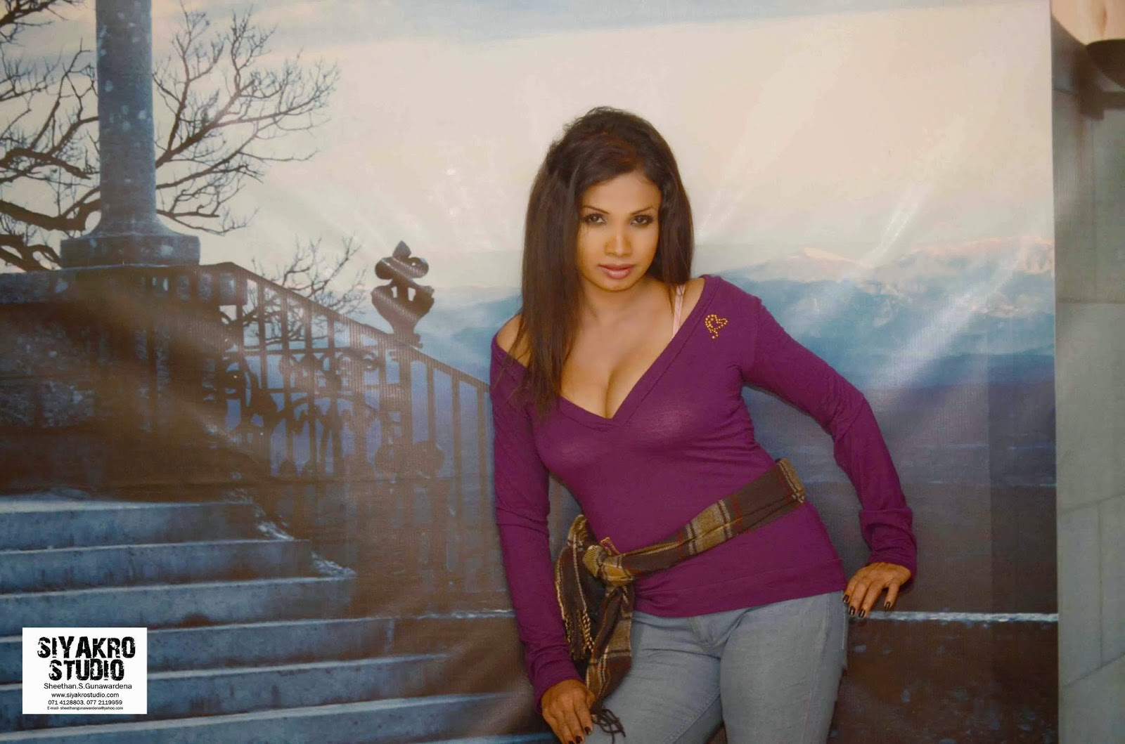 Manjula Sajeewani sri lankan model