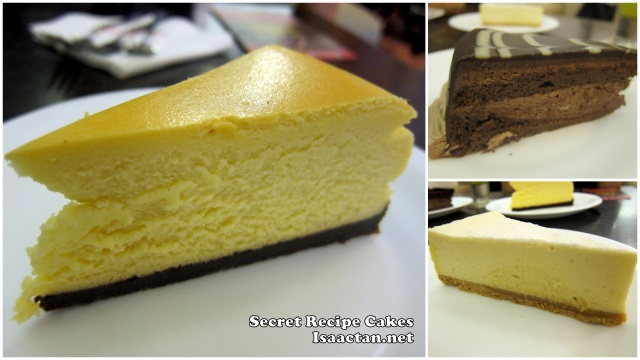 Secret Recipe Cheese Cakes