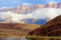 Grand Canyon of the Colorado river Arizona raft whitewater, kayak WhereIsBaer.com Chris Baer