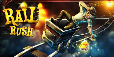 Rail Rush MOD Apk 1.3.1 Apk Mod Full Version Unlimited Gold Download-iANDROID Games