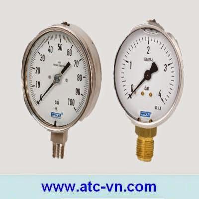 Đồng hồ áp suất Wika - Hãng SX: Wika - Germany