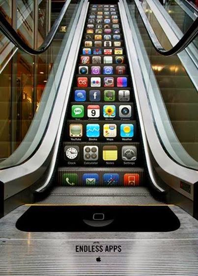 Publicidad Creativa: Apple endless apps