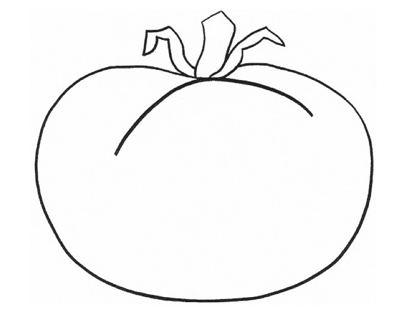 Tomatos Fruit Coloring Pages title=