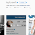 Singer Taylor Swift, 26, is the most followed person on instagram