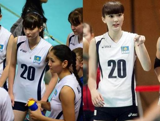 Sabina Altynbekova expression Photos