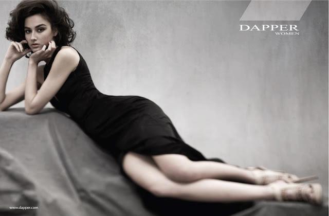 Venera Khasiyatullina in DAPPER Women Campaign