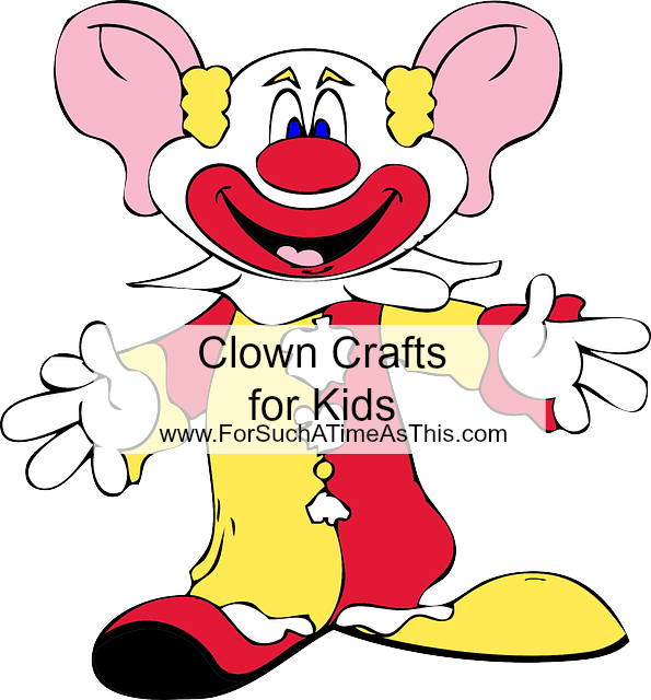 Clown Crafts for Kids