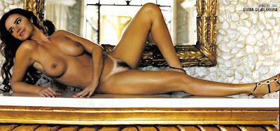 playboy   capa luma de oliveira   edi o janeiro 2005 garota da