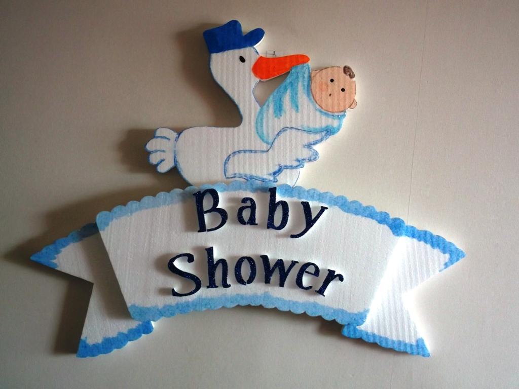 Eventos para tu beb cigue a baby shower para el y ella - Adornos baby shower nino ...