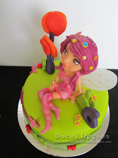 mia and me birthday cake