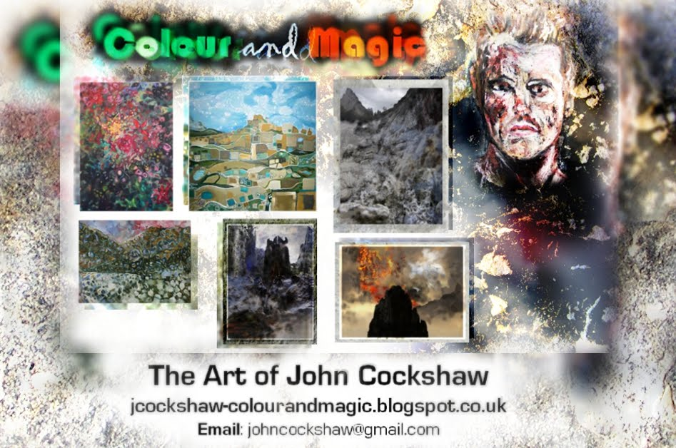 Colour and Magic: The artwork of John Cockshaw