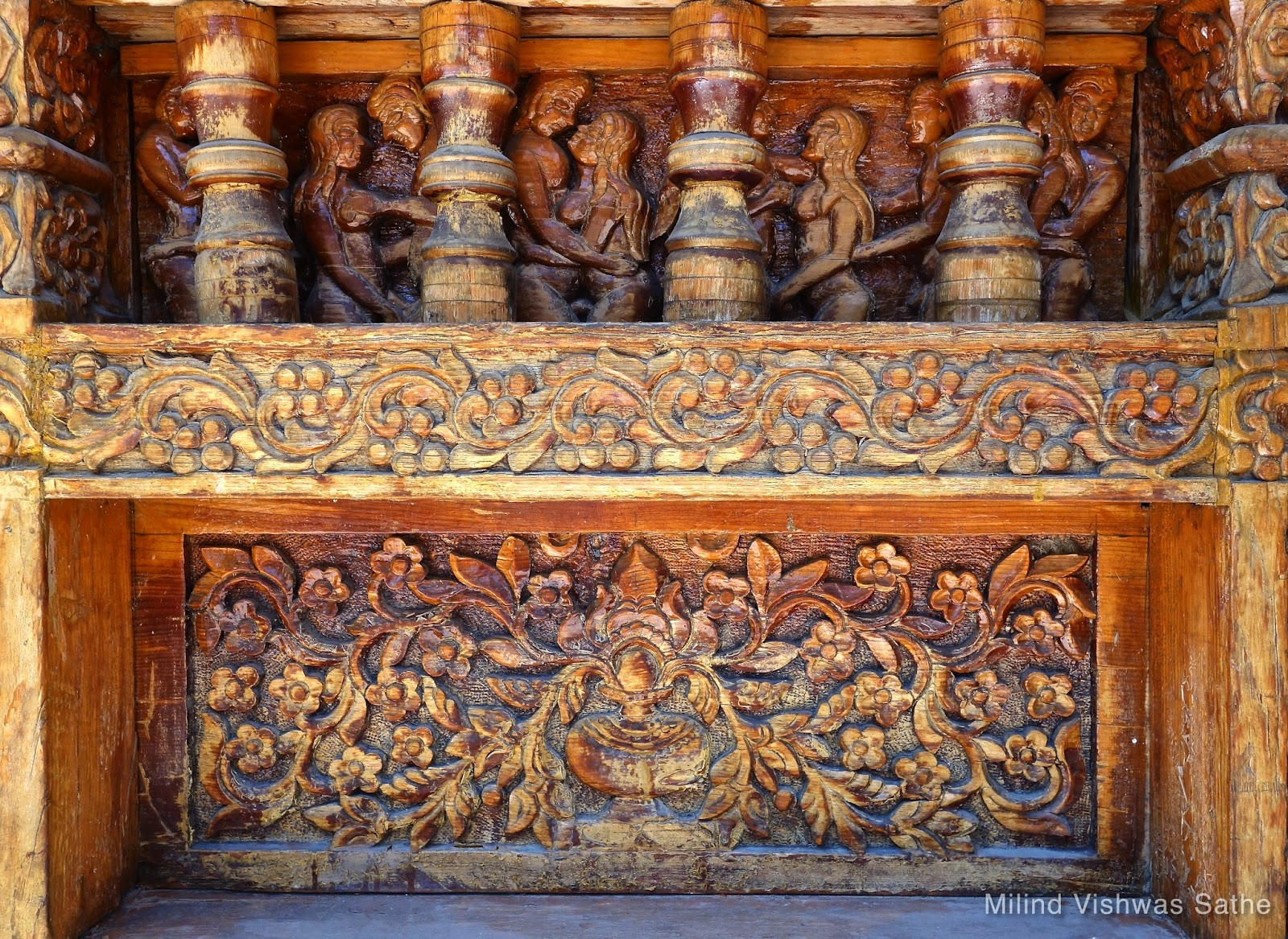 Temple Wall Panels : Travel is oxygen