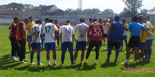 Skuad Persib lawan Sriwijaya FC .  Foto: Inilahjabar.com