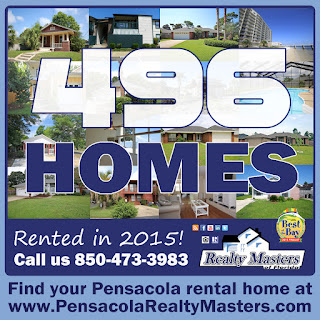 Realty Masters rented 496 homes in the Pensacola area in 2015