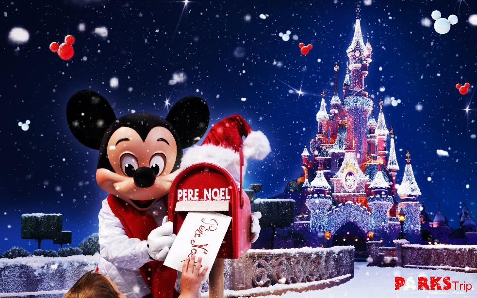 Disneyland paris annonce les festivités pour noël