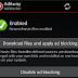 Cara memblokir iklan di Android