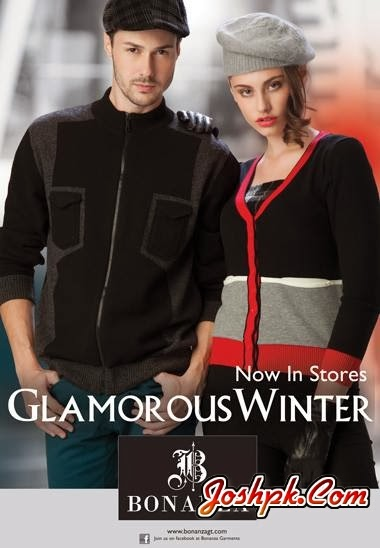 Latest Bonanza Glamorous Winter Sweaters Collection 2013-14 for Men And Women