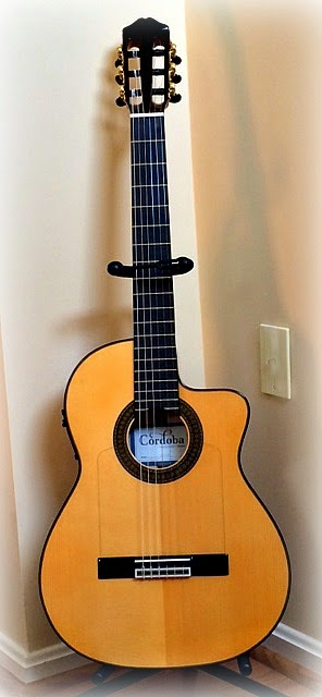 Cordoba Guitar for International Guitar Month April 2015 from BrightSkySix.blogspot.com