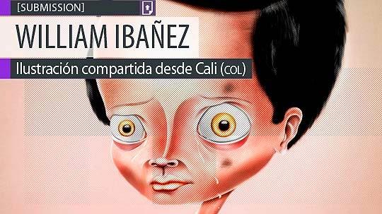 Ilustración. Maltrato de WILLIAM IBAÑEZ.