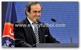 Platini Reelegido Presidente De La UEFA