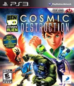 Download Ben 10 Ultimate Alien-Cosmic Destruction Torrent PS3 2010