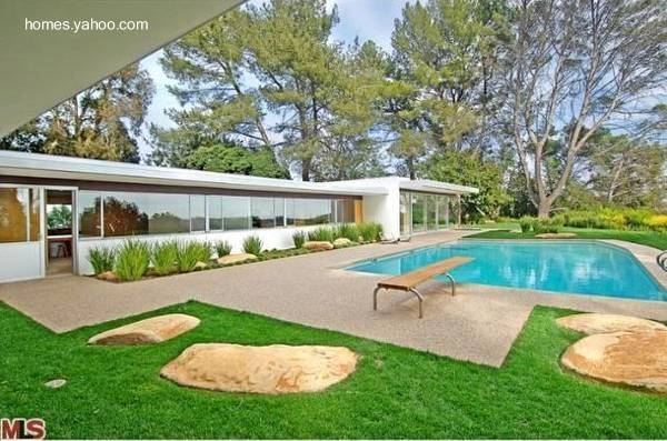 Residencia moderna Mid Century en Estados Unidos