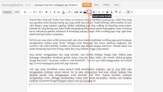 Membuat Read More di Blogspot dan Wordpress