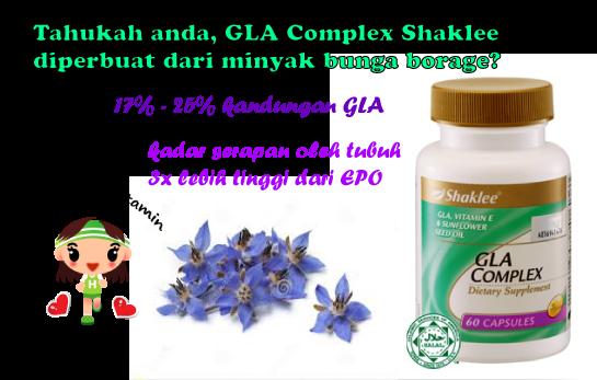 Manfaat GLA Complex Shaklee