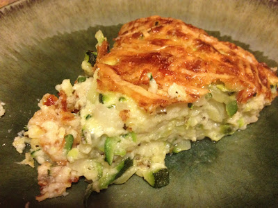 The Hodge-Podge Gallery: Crustless Summer Zucchini Pie