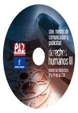 Carátula del DVD Cine, medios de comunicación y publicidad: Derechos Humanos III