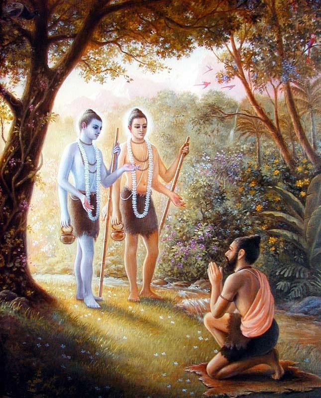 Incarnation of Lord Vishnu as Nara Narayana in Satyuga