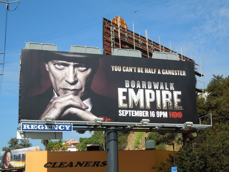 Boardwalk Empire season 3 HBO billboard