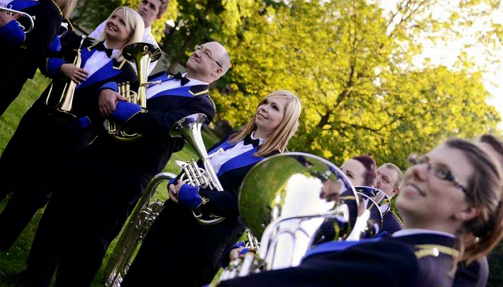 Boarshurst Band Boarshurst Silver Band Silver With Gold