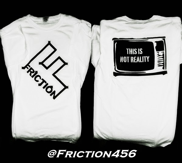 "Official Capital ""F""  Friction Tee"