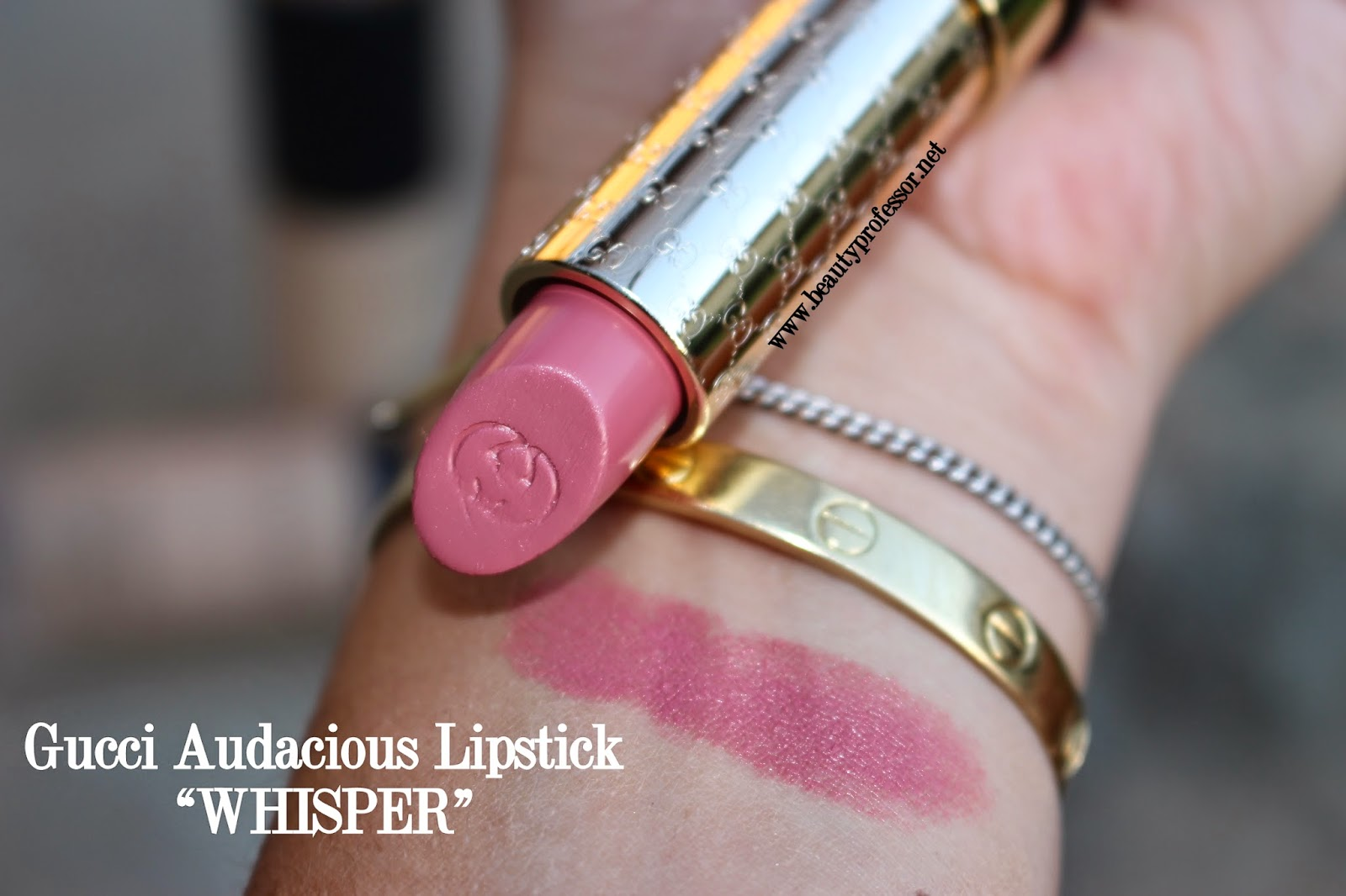 gucci whisper lipstick swatch