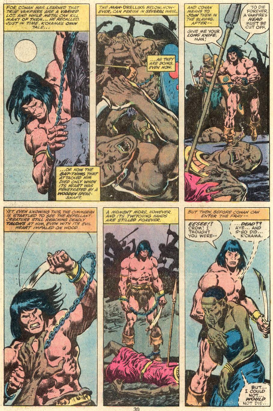Conan the Barbarian (1970) Issue #103 #115 - English 17