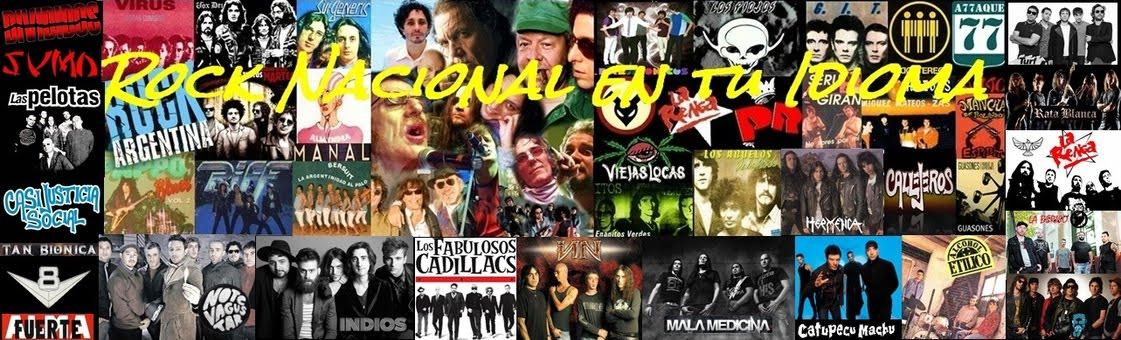 Rock Nacional en tu Idioma