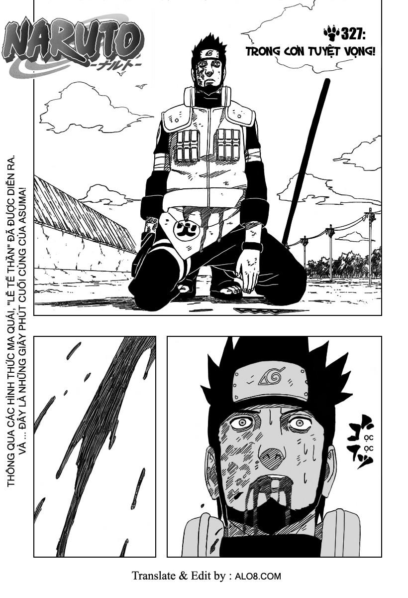 Naruto chap 327 Trang 1 - Mangak.info