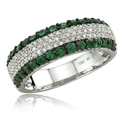 EmeraldRings whitegoldrings gold rings engagementrings goldrings stonerings stonejewellery - Emerald Rings