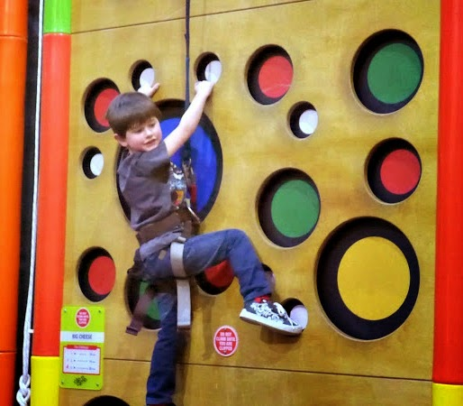 Clip n Climb Maryport - Just hanging about.