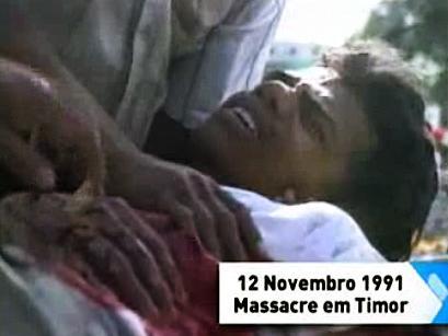 """Timor-Leste: Massacre foi """"mal necessário"""" para a luta de Timor - organizador protestos"""