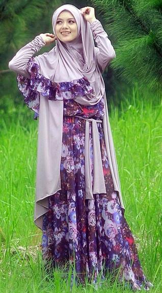 Desain Baju Muslim Trendy