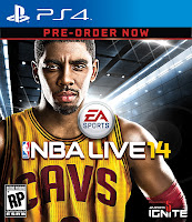 NBA LIVE 14 PS4 Box Art - High Resolution