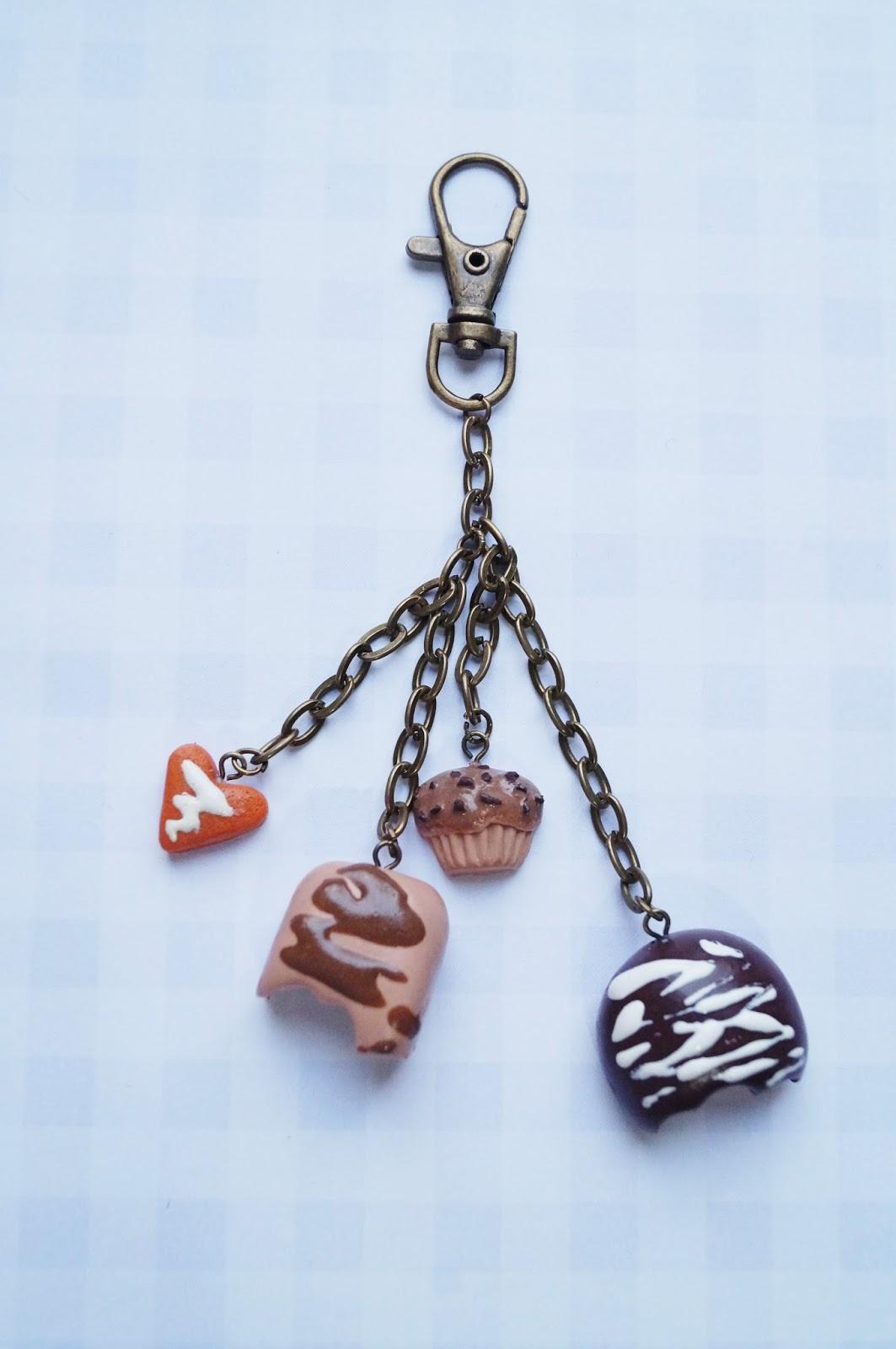 Pierwszy brelok – bardzo czekoladowy :)
